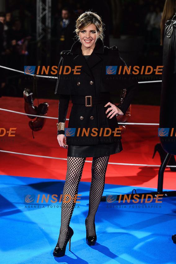 Elisabetta Pellini <br /> Roma 07-01-2014 Cinema The Space Moderno <br /> Grudge Match - Il Grande Match Premiere<br /> Foto Andrea Staccioli / Insidefoto