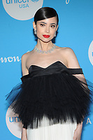 NEW YORK, NY - DECEMBER 3: Sofia Carson at the 15th Annual UNICEF Snowflake Ball at The Atrium on December 3, 2019 in New York City. Credit: John Palmer/MediaPunch