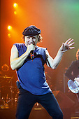 AC/DC - singer Brian Johnson performing live at the Apollo Hammersmith, London - 21 Oct 2003 - Photo by: Awais Butt