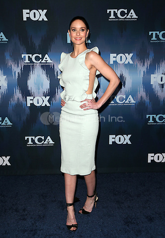 Pasadena, CA - JANUARY 11: Sarah Wayne Callies, At 2017 Winter TCA Tour - FOX All-Star Party, At Langham Hotel In California on January 11, 2017. Credit: Faye Sadou/MediaPunch