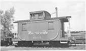 Short caboose #0524.<br /> D&amp;RGW
