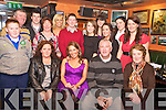 Andrea Leahy Hartnett, St Annes Road, Killarney pictured with her parents Tim and Elaine, grandmother Julie Leahy, family and friends as she celebrated her 21st birthday in Lord Kenmares on Saturday night....