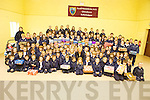 Pupils from Glenderry national school handed over their shoeboxes to charity this week.
