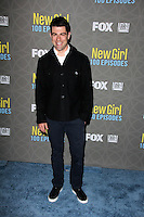 """Max Greenfield<br /> at the """"New Girl"""" 100th Episode Party, W Hotel, Westwood, CA 03-02-16<br /> David Edwards/DailyCeleb.Com 818-249-4998"""
