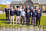 The Killorglin Jimmy Bruen team who played at Skelligs Bay GC on Saturday were front l-r; Keith O'Sullivan, Denis Bird, Damien Greer, John Joe Tagney(Captain), Joe Kennedy, Maurice Foley(Manager), back l-r; Ger Joy, Cormac Foley, Jim McCarthy, Mike Ash, Jerry Fleming, Pat Nagle, Shane Collins & Jim Doona(Manager).