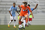 19 May 2012: Carolina's Zach Schlawski (22) is fouled from behind by Puerto Rico's Justin Fojo (PUR) (behind). The Carolina RailHawks and the Puerto Rico Islanders played to a 1-1 tie at WakeMed Soccer Stadium in Cary, NC in a 2012 North American Soccer League (NASL) regular season game.