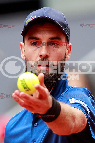 Benoit Paire, France, during Madrid Open Tennis 2018 match. May 7, 2018.(ALTERPHOTOS/Acero) /NortePhoto.com