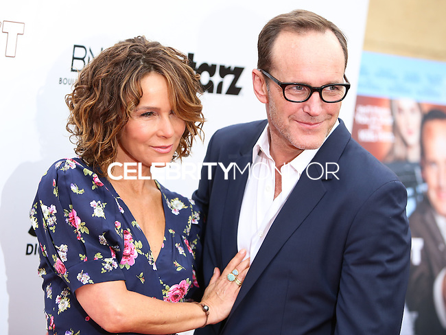 """HOLLYWOOD, LOS ANGELES, CA, USA - MAY 22: Jennifer Grey, Clark Gregg at the Los Angeles Premiere Of """"Trust Me"""" held at the Egyptian Theatre on May 22, 2014 in Hollywood, Los Angeles, California, United States. (Photo by Xavier Collin/Celebrity Monitor)"""