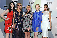 NEW YORK, NY - MAY 14: Emma Dumont, Amy Acker, Natalie Alyn Lind, Skyler Samuels, and Jamie Chung  at the 2018 Fox Network Upfront at Wollman Rink, Central Park on May 14, 2018 in New York City.  <br /> CAP/MPI/PAL<br /> &copy;PAL/MPI/Capital Pictures