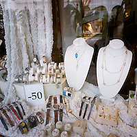 A jewellery shop's window display. Heavy discounts are on offer due to the financial crisis and ongoing recession.
