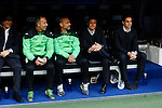Getafe´s coach Fran Escriba during La Liga match at Santiago Bernabeu stadium in Madrid, Spain. December 05, 2015. (ALTERPHOTOS/Victor Blanco)