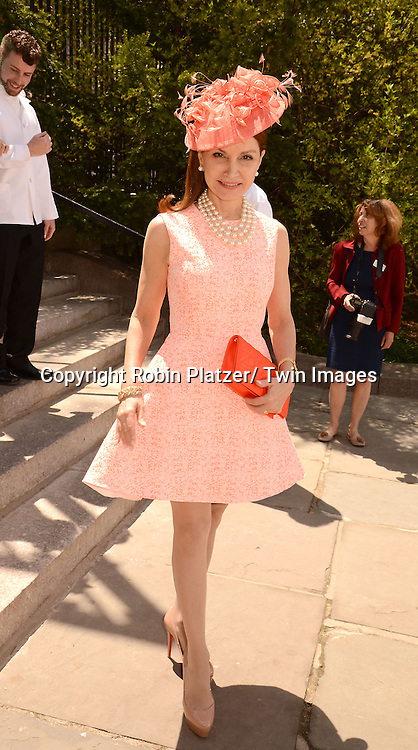 Jean Shafiroff attends the 32nd Annual Frederick Law Olmsted Awards Hat Luncheon given by The Central Park Conservancy on May 7,2014 in Central Park in New York City, NY USA.