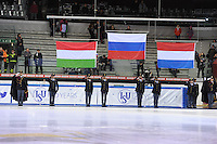 SHORT TRACK: TORINO: 15-01-2017, Palavela, ISU European Short Track Speed Skating Championships, Podium Overall Men, ©photo Martin de Jong