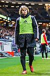 Solna 2013-09-30 Fotboll Allsvenskan AIK - &Ouml;sters IF :  <br /> AIK 25 Sam Lundholm &auml;r avbytare under matchen<br /> (Foto: Kenta J&ouml;nsson) Nyckelord:  portr&auml;tt portrait