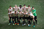 HOUSTON, TX - DECEMBER 11:  Wake Forest University poses for a picture before the Division I Men's Soccer Championship held at the BBVA Compass Stadium on December 11, 2016 in Houston, Texas.  Stanford defeated Wake Forest 1-0 in a penalty shootout for the national title. (Photo by Justin Tafoya/NCAA Photos via Getty Images)