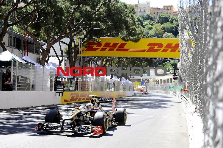28.05.2011, Circuit de Monaco, Monte Carlo, MCO, Großer Preis von Monaco, Monte Carlo, RACE 06, im Bild  DHL Branding - Vitaly Petrov (RUS), Lotus Renault GP    Foto © nph / Dieter Mathis