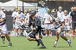 Orange, CA 05/17/14 - unidentified Colorado University player(s) and Nicholas McEneany (Arizona State #22) in action during the 2014 MCLA Division I Men's Lacrosse Championship game between Arizona State and Colorado at Chapman University in Orange, California.  Colorado defeated Arizona State 13-12.