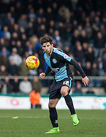 Max Kretzschmar of Wycombe Wanderers in action during the Sky Bet League 2 match between Wycombe Wanderers and Bristol Rovers at Adams Park, High Wycombe, England on 27 February 2016. Photo by Andrew Rowland.