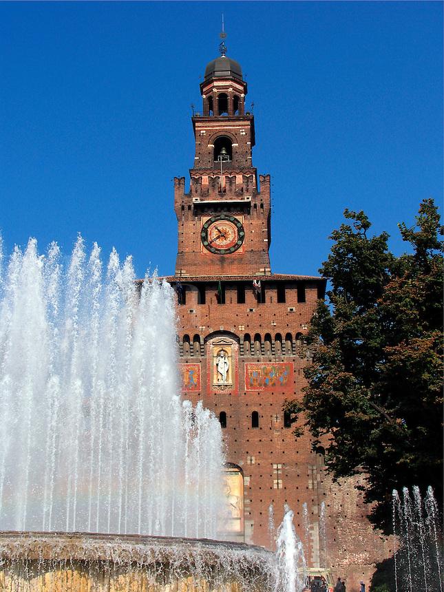 Sforza Castle, Milan, Ital