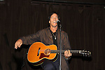 """Guiding Light's Bradley Cole performs a couple of his original songs at a showcase called """"Wednesday Nights at the Iguana"""" hosted by Dana Lorge on October 6th in New York City. (Photos by Sue Coflin/Max Photos)"""