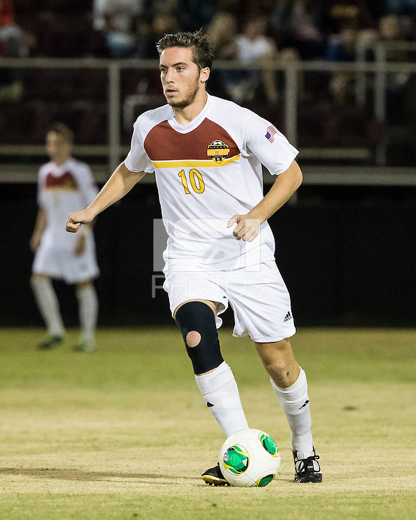 The Winthrop University Eagles beat the UNC Asheville Bulldogs 4-0 to clinch a spot in the Big South Championship tournament.  Pol Sole (10)