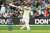 3rd December 2017, Adelaide Oval, Adelaide, Australia; The Ashes Series, Second Test, Day 2, Australia versus England; Shaun Marsh of Australia plays a pull shot to the boundary