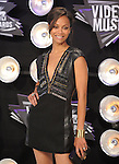 Zoe Saldana at The 2011 MTV Video Music Awards held at Nokia Theatre L.A. Live in Los Angeles, California on August 28,2011                                                                   Copyright 2011  DVS / Hollywood Press Agency