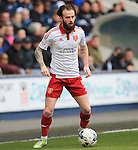 Sheffield United's John Brayford in action during the League One match at The Den.  Photo credit should read: David Klein/Sportimage