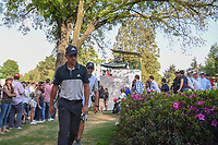 Xander Schauffele (USA) approaches the 18th tee during round 3 of the World Golf Championships, Mexico, Club De Golf Chapultepec, Mexico City, Mexico. 3/3/2018.<br /> Picture: Golffile | Ken Murray<br /> <br /> <br /> All photo usage must carry mandatory copyright credit (&copy; Golffile | Ken Murray)