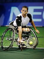 18-11-07, Netherlands, Amsterdam, Wheelchairtennis Masters 2007, Robin Ammerlaan in the final