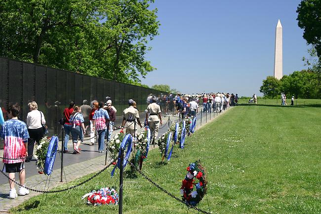 The Vietnam War Memorial, DC