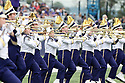 SEATTLE, WA - September 29:  Washington band members entertained fans before the game between the Washington Huskies and the BYU Cougars on September 29, 2018 at Husky Stadium in Seattle, WA. Washington won 27-20 over BYU.
