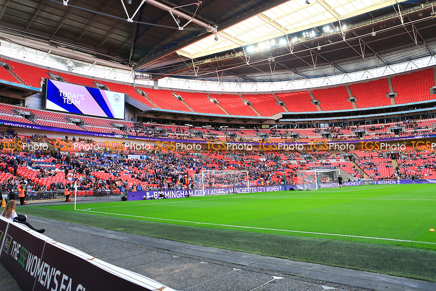 Crowds build before Birmingham City Ladies vs Manchester City Women, SSE Women's FA Cup Final Football at Wembley Stadium on 13th May 2017