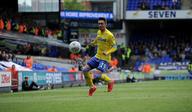 Leeds United's Pablo Hernandez<br /> <br /> Photographer Hannah Fountain/CameraSport<br /> <br /> The EFL Sky Bet Championship - Ipswich Town v Leeds United - Sunday 5th May 2019 - Portman Road - Ipswich<br /> <br /> World Copyright © 2019 CameraSport. All rights reserved. 43 Linden Ave. Countesthorpe. Leicester. England. LE8 5PG - Tel: +44 (0) 116 277 4147 - admin@camerasport.com - www.camerasport.com