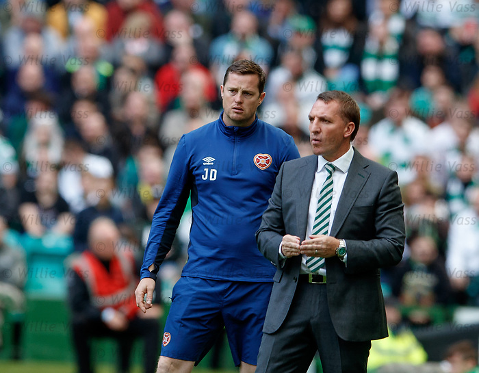 Brendan Rodgers and Jon Daly