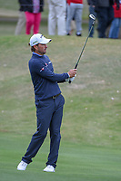 Kevin Kisner (USA) watches his approach shot on 1 during day 5 of the WGC Dell Match Play, at the Austin Country Club, Austin, Texas, USA. 3/31/2019.<br /> Picture: Golffile | Ken Murray<br /> <br /> <br /> All photo usage must carry mandatory copyright credit (&copy; Golffile | Ken Murray)