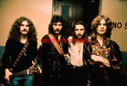 Black Sabbath 1972..© Chris Walter..