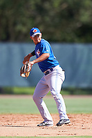 Toronto Blue Jays shortstop Yeltsin Gudino (51) during an Instructional League game against the Philadelphia Phillies on October 1, 2016 at the Carpenter Complex in Clearwater, Florida.  (Mike Janes/Four Seam Images)