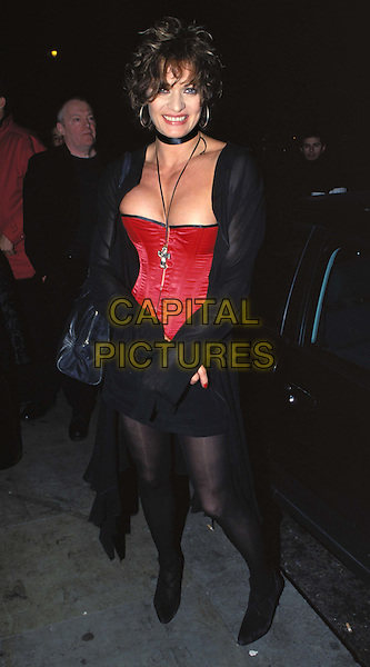 NIKKI DIAMOND..Ref:11317..corset, cleavage, choker, scorpio, gladiators, second breast enlargment, boob job, fake, silicon implant..www.capitalpictures.com..sales@capitalpictures.com..©Capital Pictures..full length, full-length