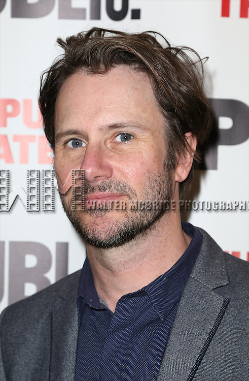 Josh Hamilton attends the Opening Night Celebration of 'Grounded' at the The Public Theatre on April 24, 2015 in New York City.