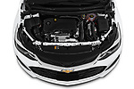 Car Stock 2019 Chevrolet Cruze LT 5 Door Hatchback Engine  high angle detail view
