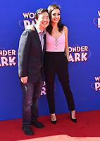 """10 March 2019 - Westwood, California - Ken Jeong, Mila Kunis. """"Wonder Parker"""" Los Angeles Premiere held at Regency Village Theater. Photo Credit: Birdie Thompson/AdMedia"""