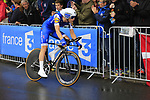 Julien Vermote (BEL) Quick-Step Floors in action during Stage 1, a 14km individual time trial around Dusseldorf, of the 104th edition of the Tour de France 2017, Dusseldorf, Germany. 1st July 2017.<br /> Picture: Eoin Clarke | Cyclefile<br /> <br /> <br /> All photos usage must carry mandatory copyright credit (&copy; Cyclefile | Eoin Clarke)