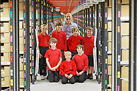2019 10 24 Trellech Primary School visit the CWL1 fulfillment centre, Swansea, Wales, UK