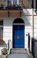 London: Wilton Place--Doorway.