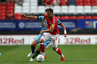 Jake Forster-Caskey of Charlton Athletic and Mathew Stevens of Forest Green Rovers during Charlton Athletic vs Forest Green Rovers, Caraboa Cup Football at The Valley on 13th August 2019