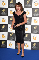LONDON, UK. March 19, 2019: Lorraine Kelly arriving for the Royal Television Society Awards 2019 at the Grosvenor House Hotel, London.<br /> Picture: Steve Vas/Featureflash