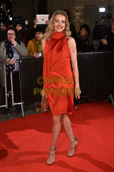 Natalia Vodianova<br /> The Naked Heart Foundation Fabulous Fund Fair, at The Roundhouse, Camden, London, England on February 21,  2017.<br /> CAP/Phil Loftus<br /> &copy;Phil Loftus/Capital Pictures
