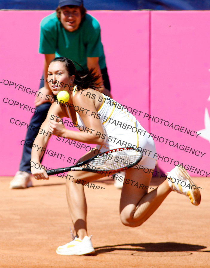 Tennis, Fed Cup, Europe/Africa zone group.Serbia Vs. Romania.Jelena Jankovic.Plovdiv, 21.04.2007..foto: Starsport
