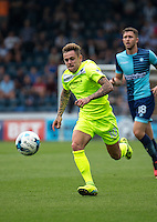 Sammie Szmodics of Colchester United during the Sky Bet League 2 match between Wycombe Wanderers and Colchester United at Adams Park, High Wycombe, England on 27 August 2016. Photo by Liam McAvoy.
